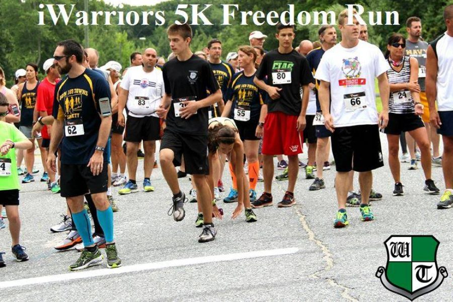 Results from the Second Annual iWarriors 5K Freedom Run